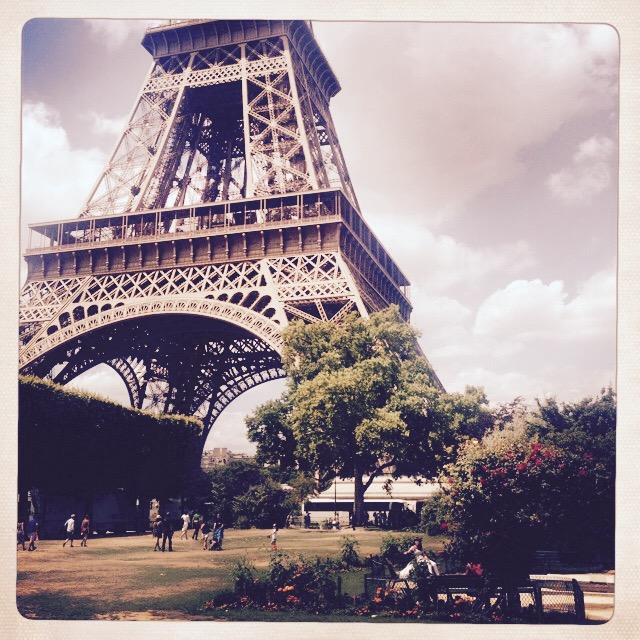 In Paris, sollte man leben & geniessen lernen.